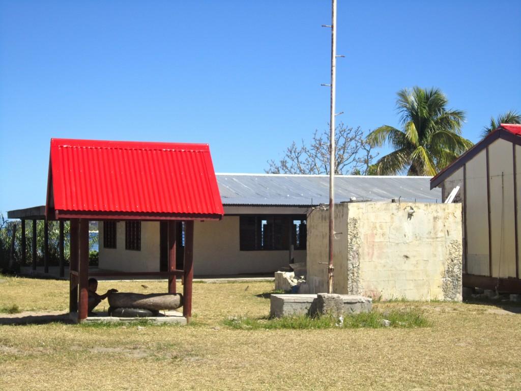 Village Square, Fiji by Suzanna Lourie