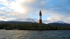 Lighthouse Tierra del Fuego by Suzanna Lourie