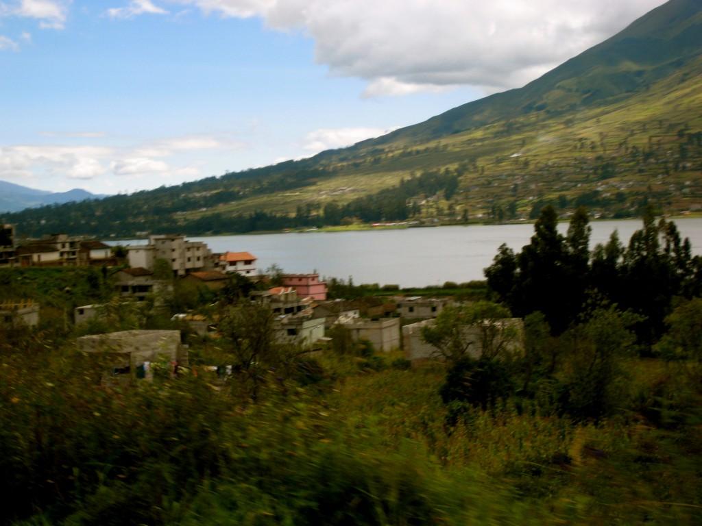 Outside Quito Ecuador by Suzanna Lourie