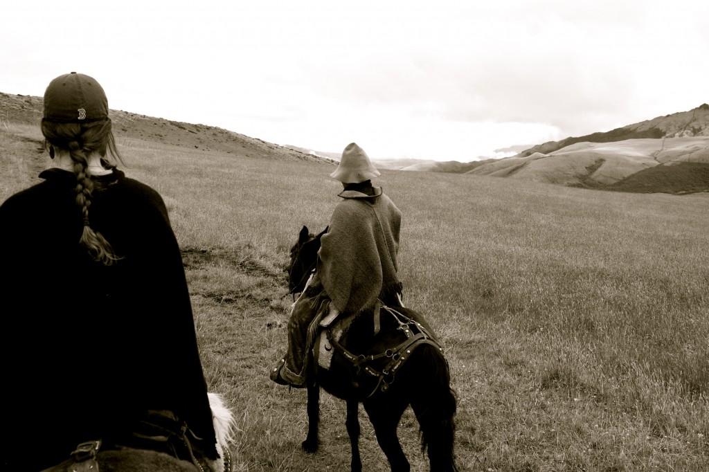 On Horseback Ecuador by Suzanna Lourie
