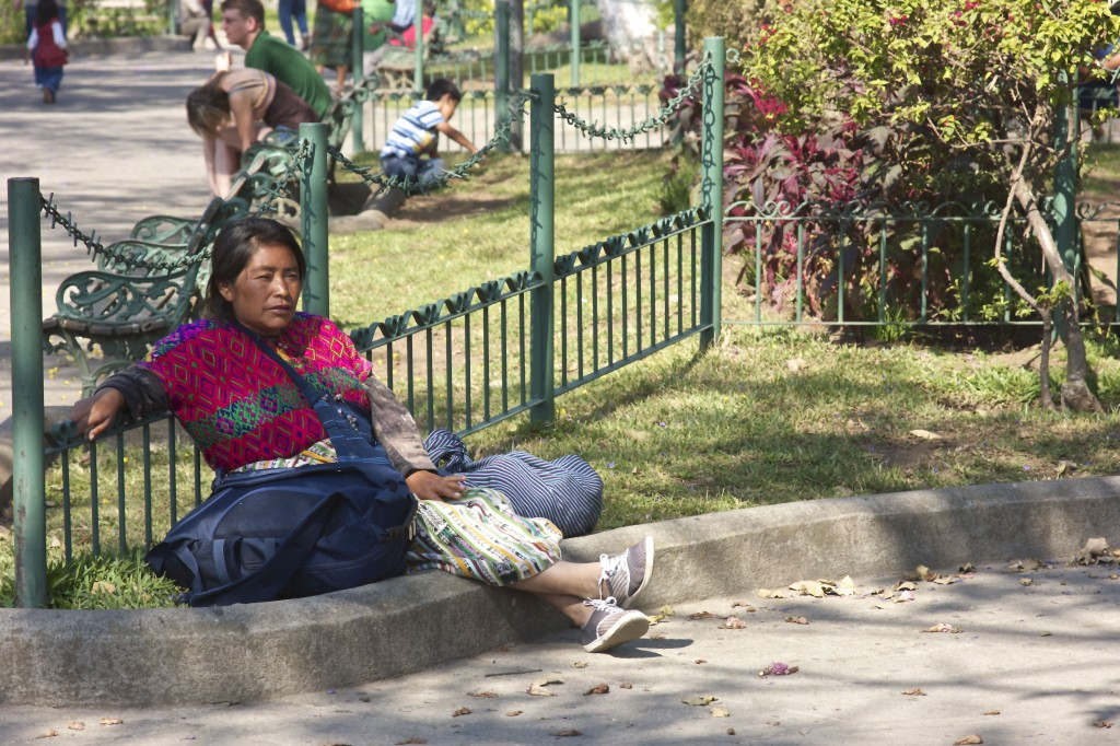 Rest in the Park