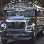 Guatemala City Bus by Suzanna Lourie